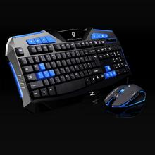 Mouse NOT russian keyboard Gaming 2.4G wireless keyboard and Mouse Set to computer Multimedia Gamer   wholesale