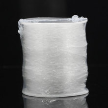 2016 NEW 1Roll Nylon Elastic Thread for Jewellery Making White 0.8mm  HOT sale New Arrival