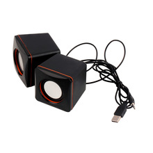 Mini Portable USB Audio Music Player Speaker for iPhone MP3 Laptop PC(China)