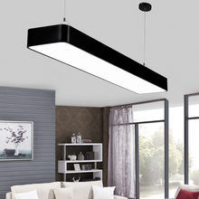 led ceiling light luminaria led for home lighting Black/White cover office lamp kitchen Livingroom bedroom ceiling light