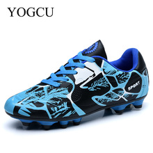 YOGCU Soccer Shoes Football Sports Kids Men Soccer Cleats Tenis Feminino Esportivo Superfly Sneakers For Boys Football Shoes
