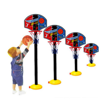1 set kids sport basketball stand Adjustable Outdoor Indoor Sports Train Basketball Hoop Toy Set Stand Ball Backboard Net