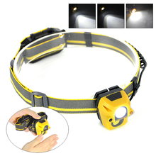 Mini XPE+COB LED Headlamp 300LM Body Motion Sensor Headlight Outdoor Camping Flashlight Head Torch Lamp for Outdoor Night Light