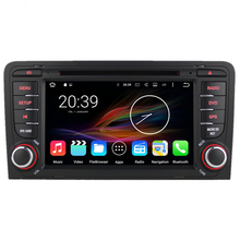 "7"" Octa Core Android 6 Car Multimedia GPS Navigation DVD Radio for Audi A3 S3 2002 2003 2004 2005 2006 2007 2008 2009 2010 2011(China)"