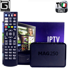 GOTiT Mag250 with Super Italy IPTV Box 1400+ AlbanianTurkey Portugal IPTV XXX Adult Hot club channels included Smart Set Top Box