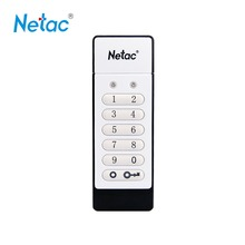 Original Netac U618 USB2.0 Flash Drive 16GB 32GB Keypad Lock AES 256-bit Hardware Off-line Encryption Pen Drive Memory Stick
