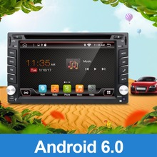 radio 2 din android 6.0 car dvd palyer steering-wheel gps navigation 2din radio tape recorder wifi+3G+TV (Option) car multimedia(China)