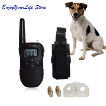 Pet Dog Training Collars Dog Anti Bark Collar Remote Control No Barking Dog Shock Electric Shock Vibration Remote