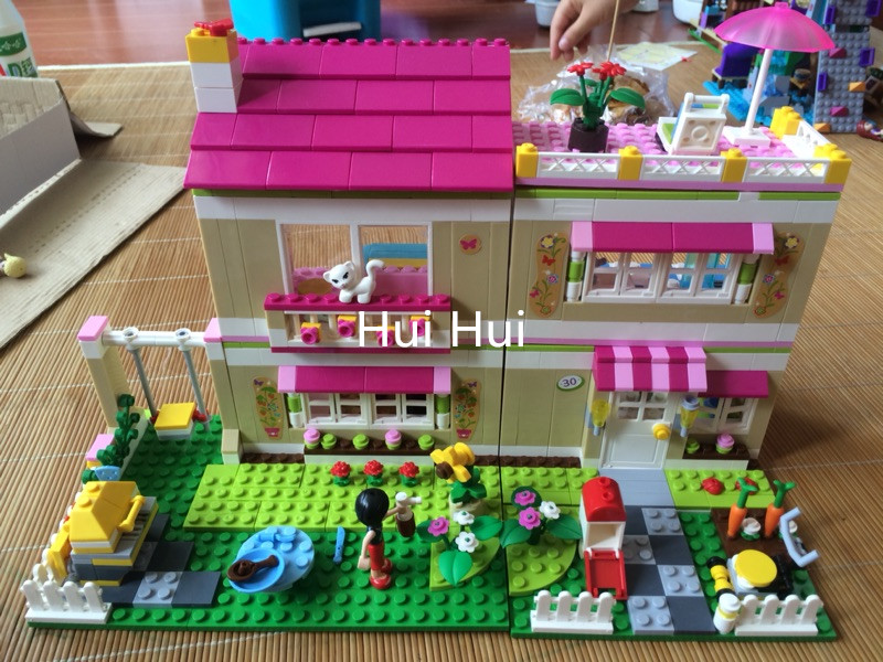 695+pcs Girls Friends Set 10164 Series City Olivia House Doll Building Brick Block Minis CASA Toy Gift children educational toys<br>