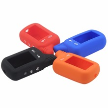 Two Way Car Alarm Silicone Case For Tomahawk TZ9010 TZ9030 LCD Remote Only Tomahawk TZ 9010 Silicone Case with logo