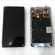 "For Nokia N9 3.9"" 480*854 Smart Phone LCD Display Touch screen digitizer glass lens sensor assembly replacement + Frame"