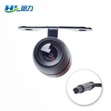 1pcs Waterproof 2.5mm Jack Port Universal Car Rear View Camera CCD For Car DVR Video Recorder