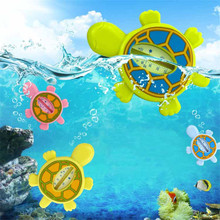 Floating Lovely Tortoise Baby Water Thermometer Plastic Float Baby Bath Toy Thermometer Tub Water Sensor Thermometer Bath Tester