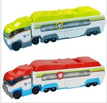 Children's Toys   Patrol Dog Toys air rescue Dogs patrol car bus bus dogs patrol jungle super bus parking lot with the captain