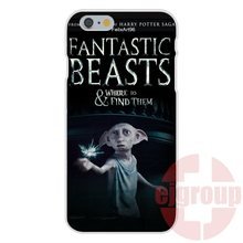Soft TPU Silicon Case Protective Fantastic Beasts and Where to Find Them For Apple iPhone 4 4S 5 5C SE 6 6S 7 7S Plus 4.7 5.5