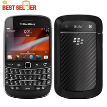 Original 9900 Blackberry Blod Touch 9900 Unlocked 3G cell phones WiFi GPS 5.0MP Camera QWERTY keyboard phone(China)