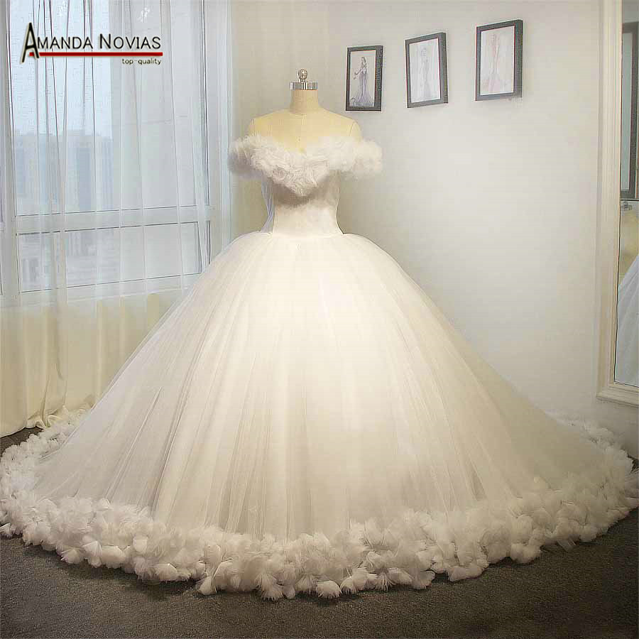 Buy Fluffy Wedding Dresses And Get Free Shipping On AliExpress