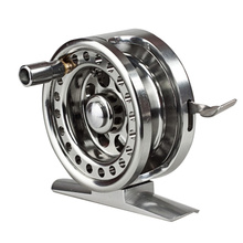 BLD Aluminum Alloy Fishing Reels Wheel Spool Centrifugal Droplets Round Bearings Fly Fishing Tools ALS88