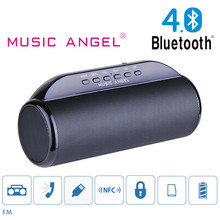 High Quality Original Music Angel JH-MD13BT Enhenced Bluetooth  Speaker NFC/TF Card/FM Radio/Download Subwoofer Soundbox Speaker