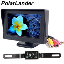 hot sell 4.3 inch TFT LCD display car rear view system car monitor with night vision car camera and Transmitter
