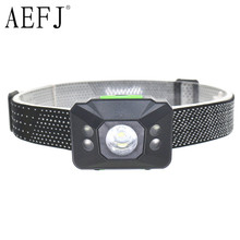 Mini 5000 Lumens R5 5 LED AAA 6 Mode Waterproof Headlight Headlamp Head Lamp Light Flashlight Torch(China)