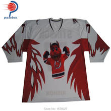 Multicolor Custom Sublimation Ice Hockey Jersey(China)