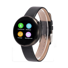 "DM360 Bluetooth Smart Watch 1.22"" Heart Rate Pedometer Sleep Monitor Anti-lost Handfree Mic Speaker Wristwatch for IOS Android"