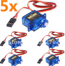 5pcs/lot Tower pro SG90 RC Micro Servo 9g For Arduino Aeromodelismo Align Trex 450 Airplane RC Plane Helicopters Accessories