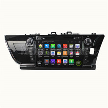 NaviTopia 9Inch Quad Core Android 5.1 Car DVD GPS For Toyota Corolla 2014 Car PC+Radio Stereo+RDS+Bluetooth+WiFi+Mirror Link(China)