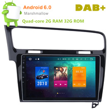 "10.2"" Android 6.0 Octa Core 2G RAM Car Raido GPS Player For Volkswagen VW golf 7 2013 NO DVD Head unit FM BT Player"