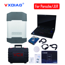 New arrival VXDIAG MULTI Diagnostic Tool For Porsche Piwis Tester 2 V18.1 JLR V149 With 4GB I5 T420 Laptop DHL free shipping(China)