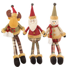 Christmas Essential!!!50CM Large Size Santa Claus Snowman Deer Plush Toy Children Favorite Christmas Gifts Stuffed Dolls(China)