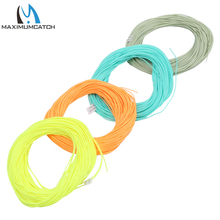 Maximumcatch 100FT Fly Fishing Line Weight Forward Floating Fly Line Multy Color And Size To Choose Fishing Line