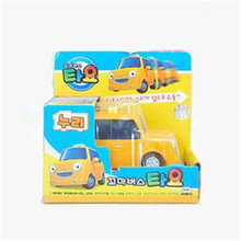 Tayo tayo the little bus kids toys NURI oyuncak miniature yellow taxi coche model car tayo bus juguetes para ninos(China)
