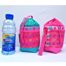Cute Bottle Warmer Insulation Bag Baby Bottle Warmer Heart Universal Bottle Holder Bags Carrier Gift New 2017