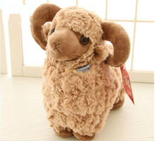 Fancytrader 24'' / 60cm Super Soft Lovely Stuffed Giant Plush Goat Sheep, 3 Colors Available, Free Shipping FT50463