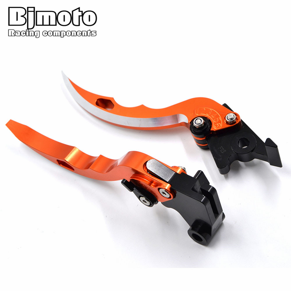 BJMOTO Motorcycle Blade Brake Clutch Levers Motorbikes Brakes Lever For KTM 1190 Adventure/R 13-16 Super Adventure 1290 S/T/R 17<br>