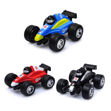 2017 Hot Sale Race Diecast Mini Plastic Vehicle Engineering F1 Racing Car Model Classic Toy Mini gift for Boy