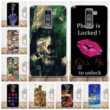 Cases for LG G Stylo 2 Plus/Stylus 2 Plus/K550/K530F/K535D Case 3D TPU Soft Phone Back Cover Silicone Mobile Phone Fundas(China)