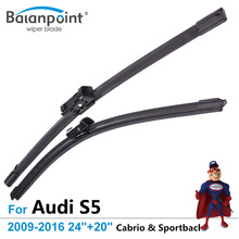 "Wiper Blades for Audi S5 Cabrio & Sportback 2009-2016 24""+20"", Set of 2, Windshield Wipers Sale"