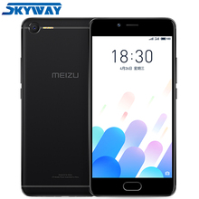 Original MEIZU E2 M2E 3G 32G 4G LTE Cell Phone MTK Holio P20 Octa Core 5.5inch 1920X1080P Fingerprint Fast Charging(China)