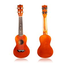 uke children toy guitar brown chord guitar instrument for early childhood education christmas(China)