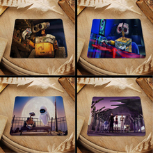Hot 2016 Walle Rd Star Wars Robots Cartoon mouse pad with edge locking for internet game and office use