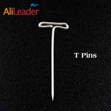 Straight T-Pins Multifunctional Fixed Tool T-Pin Style Tack For Block Cheap Price Good Quality Pin For Hair Wig Crafts(China)