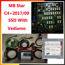 2017 09 Scanner MB STAR C4 For Mercedes Benz C5 Multiplexer with Software 240g high Speed SSD With Vediamo/DTS MANACO/EPC/WIS(China)
