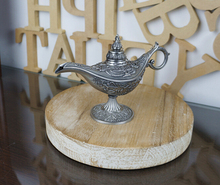 Vintage tea pot home decoration pewter plated craft retro gifts Ala ddin Lamp(China)
