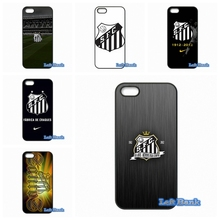 For Apple iPhone 4 4S 5 5S 5C SE 6 6S 7 Plus 4.7 5.5 iPod Touch 4 5 6 Santos FC Logo Case Cover(China)