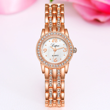 Lvpai Brand Cheap Stainless Steel Watch Rose Gold Bracelet Watch Fashion Luxury Women Dress Watch Gift Quartz Watch