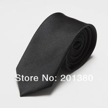 Fashion Narrow Tie Men Wedding gravata slim 6cm width 19 colors
