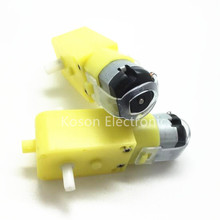 1x DC3V-6V DC Geared Motor TT For Robot Smart Car Chassis DIY Anti-interference